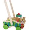 chariot pousseur bois chenille