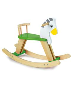 cheval bascule bois mona