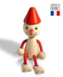 jouet bois pinocchio pantin