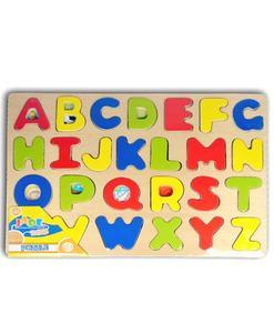 jouet bois puzzle alphabet qualijouet