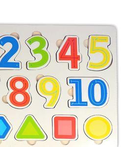 jouet bois puzzle chiffres