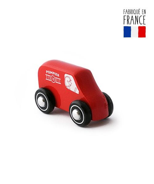 jouet camion bois ambulance qualijouet