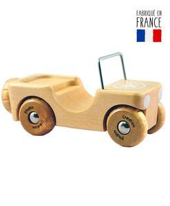 voiture bois jeep qualijouet