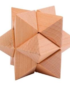 Casse tête triangle en bois massif - small foot - Qualijouet