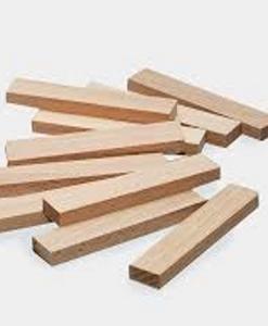 Les planchettes du jeux de construction