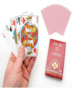 Jeu de 32 cartes française classique - Qualijouet