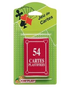 Jeu de 54 cartes plastifiées - Qualijouet
