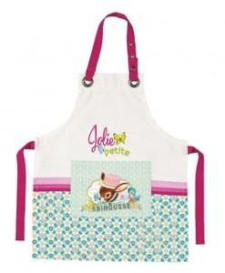 """Tablier de cuisine en coton enfant """"jolie petite frimousse"""" - Qualijouet"""