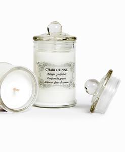 Bougie parfumée fabriquée à la main en grand pot Bonbonnière (détail) - Qualijouet