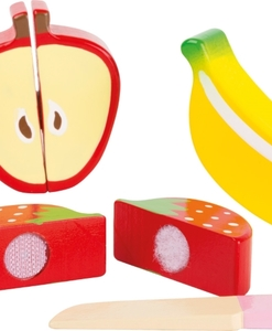 Fruits en bois (détail) - Qualijouet
