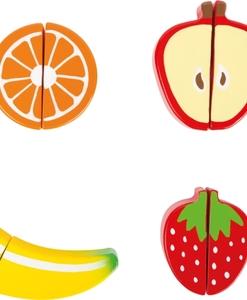 Assortiments de fruits en bois (détail) - Qualijouet