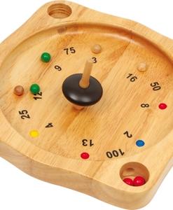 Virolon ou roulette paysanne en bois - Qualijouet