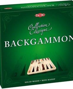 Jeu de Backgammon en bois dans sa boite - Qualijouet