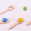 """Bilboquet """"Bilboraquette"""" avec choix de couleurs - Qualijouet"""