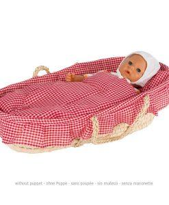 Couffin pour poupées avec drap (sans poupée) - Qualijouet