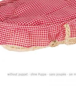 Couffin pour poupées avec draps - Qualijouet