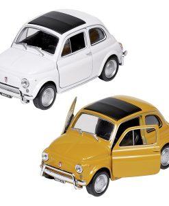Miniature Fiat Nuova 50O L à échelle 1:24 - Qualijouet