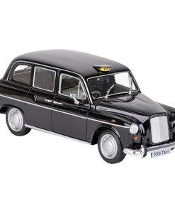 Miniature Austin FX 4 London Taxi en métal (détail) - Qualijouet