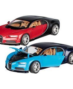 Miniature Bugatti Chiron métal à échelle 1:24 - Qualijouet