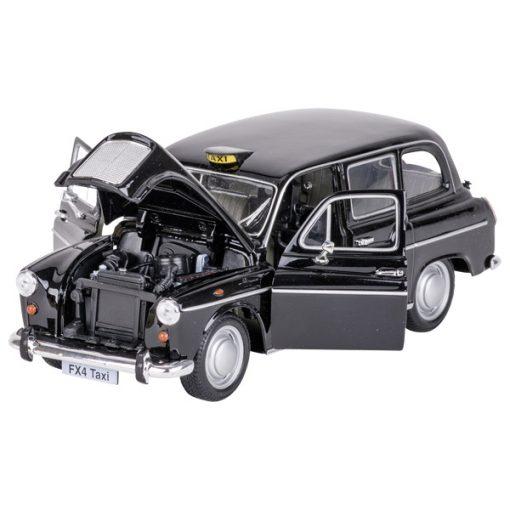 Miniature Austin FX 4 London Taxi métal (détail) - Qualijouet