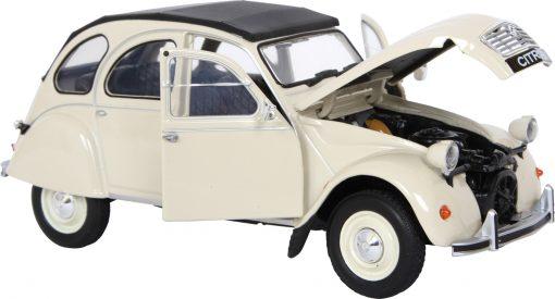 Citroën 2 cv couleur beige (détail) - Qualijouet