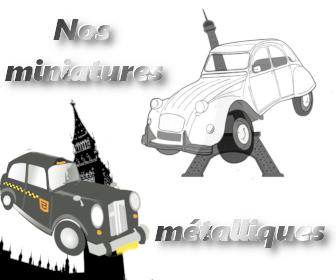 Miniatures métallique - Qualijouet
