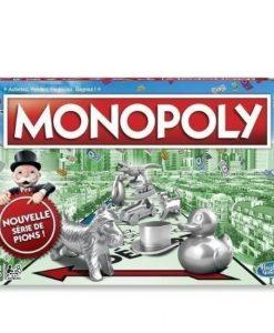 Monopoly Classique avec nouvelle série de pions - Qualijouet