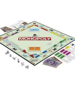 Monopoly Classique avec nouvelle série de pions ( détail) - Qualijouet