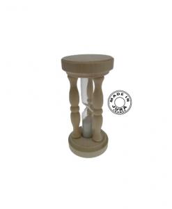 Sablier à colonne en bois - Qualijouet