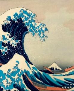 Puzzle Hokusai - The great wave off Kanagawa 1831 (détail) - Qualijouet