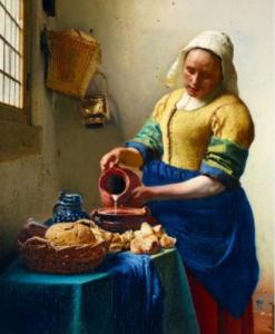 Puzzle Vermeer - The Milkmaid 1658 (détail) - Qualijouet