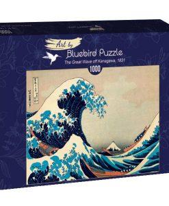 Puzzle Hokusai - The great wave off Kanagawa 1831 1000 pièces - Qualijouet
