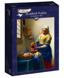 Vermeer - The milkmaid -1658 - Qualijouet