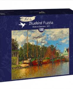 Puzzle Claude Monet - Boats at Zaandam, 1871 - Qualijouet