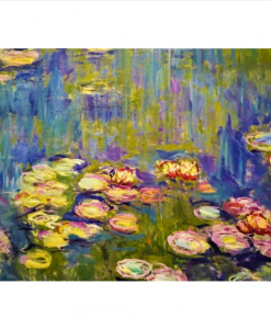 Claude Monet - Nymphéas -Qualijouet