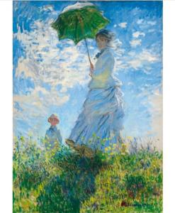 Puzzle Claude Monet - Woman with a Parasol - Madame Monet and Her Son (détail)