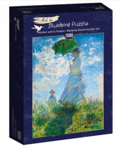 Puzzle Claude Monet - Woman with a Parasol - Madame Monet and Her Son