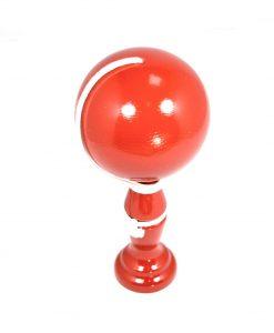 Bilboquet en bois couleur rouge - Qualijouet