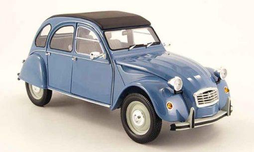 Citroën 2 cv couleur bleu - Qualijouet