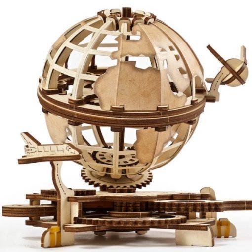 Globe kit en bois Puzzle 3D- Qualijouet